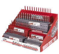 Hansen Globals retail display, socket trays, wrench racks, distributor sales material