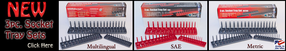 New Product from Hansen Global - Socket Tray Sets