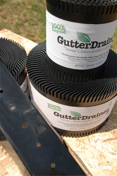Gutter Drainer 25' Roll,buy gutter drainer,purchase gutter drainer,buy leaf guard