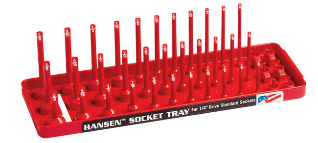 Hansen Global 92003 4 Pack 3 Row Socket Trays